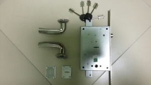 Комплектация для установки замка двери